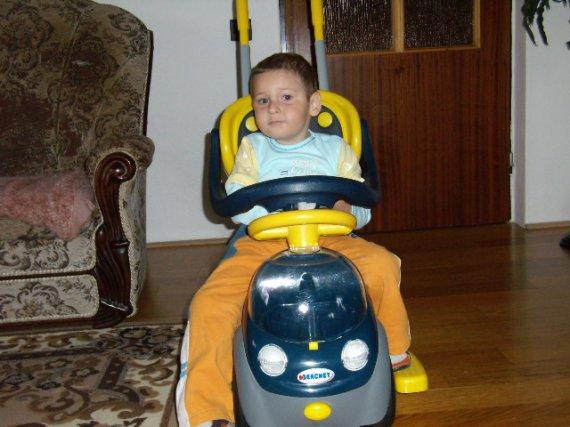 také auto si kúpim keď trošku podrastiem